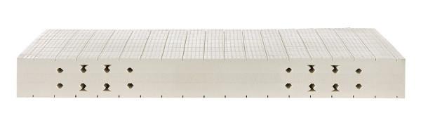 Matratzenkern Zonen /Einschnitte für den Mann